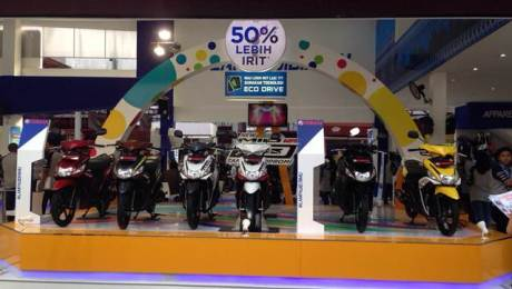 Sales Program Yamaha di Jakarta Fair 2015, Grand Prize 8 Unit Motor