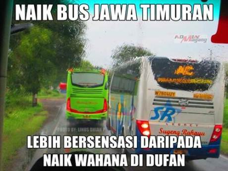 Sensasi Naik Bus Jawa Timuran Kalahkan Wahana di Dufan