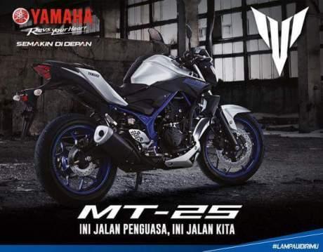 Slogan Yamaha MT-25 Ini Jalan Penguasa, Ini Jalan Kita