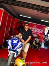 Start dari Posisi 9, Hendra Rusbule belum Klik dengan Mapping ECU Daytona Yamaha R25 nya Sunday Race R series 2015 pertamax7.com_-2