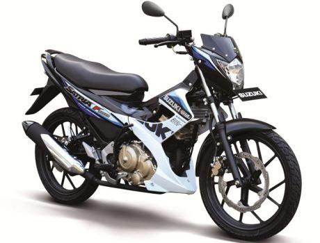 Suzuki satria-f150-r-white pertamax7.com