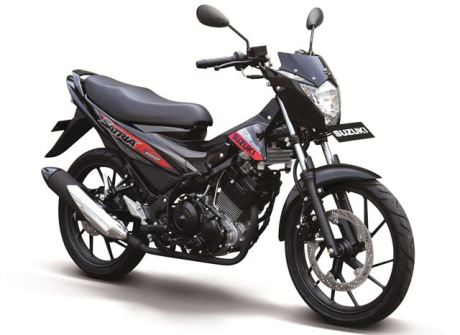 Suzuki satria-f150-s-black-red pertamax7.com