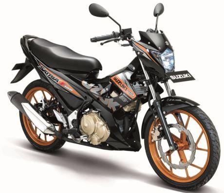 Suzuki satria-f150-se-gold pertamax7.com