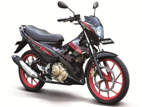Suzuki satria-f150-se-red pertamax7.com