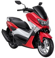 Warna Yamaha NMAX Climax Red Pertamax7.com