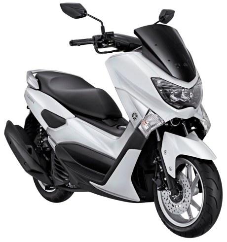Warna Yamaha NMAX Premier White Pertamax7.com