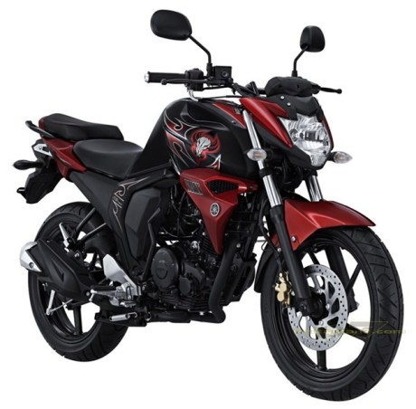 Yamaha All New Byson FI Red Combat pertamax7.com