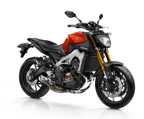 Yamaha MT-09 Blazing Orange Indonesia
