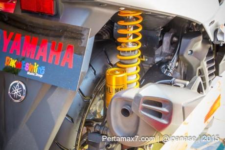 Yamaha Nmax pakai Shock Ohlins Rp.8,5 juta pertamax7.com_