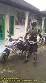 Ada Kamen Rider Onyx Naik Yamaha New Vixion Lightning Asal Pekalongan Unik 00 pertamax7.com