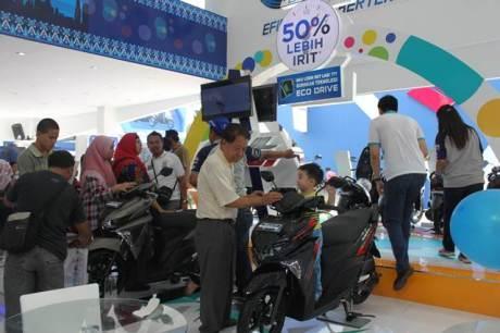 All New Soul GT motor paling laris Yamaha di Jakarta Fair 2015