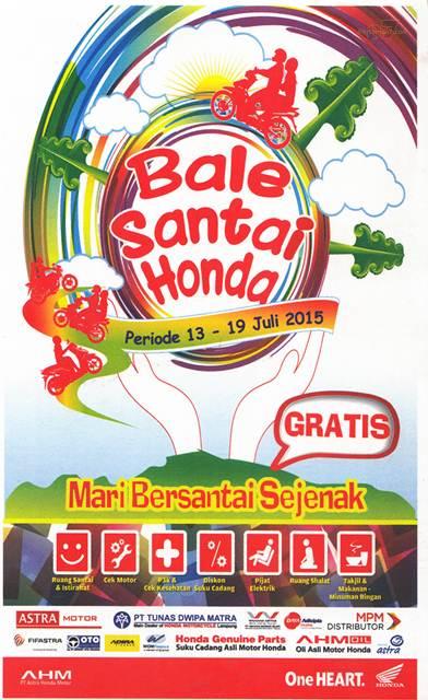 Bale Santai Honda 13-19 Juli 2015 pertamax7.com