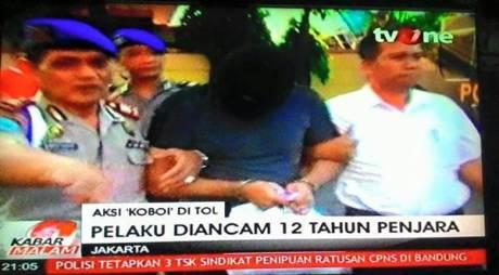 Dibekuk Polisi, Penembak Daihatsu Xenia di TOL JORR itu mengaku Lapar mau cepat Pulang