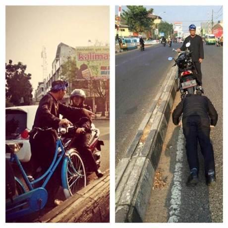 Heboh Sarjana Ekonomi Lawan Arah di Hukum Push Up oleh Wali Kota Bandung Ridwan Kamil [ Viral ] pertamax7.com