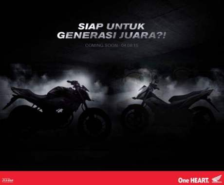 Honda CB150R facelift 2015 dan Honda Sonic 150R dilaunching 4 Agustus 2015 pertamax7.com