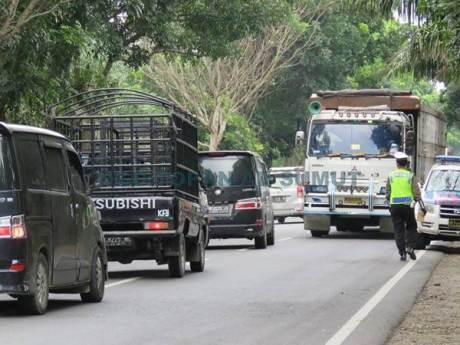 Kena Foto Wartawan, Razia Lalu Lintas Polisi Jelang Lebaran di Sumatera Utara Ini bubar jalan 06 pertamax7.com