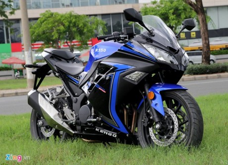 Kengo R350 Motor Jiplakan Kawasaki Ninja 250 FI dari Tiongkok, jian mirip bingit 01 Pertamax7.com