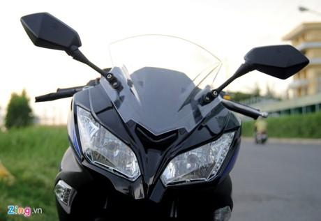 Kengo R350 Motor Jiplakan Kawasaki Ninja 250 FI dari Tiongkok, jian mirip bingit 06 Pertamax7.com