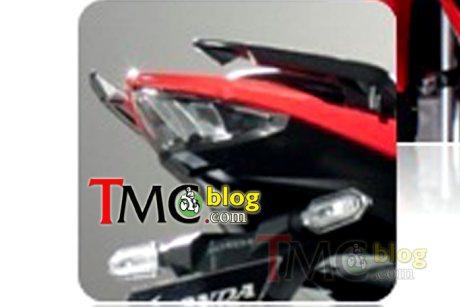 lampu belakang honda CB150R facelift 2015