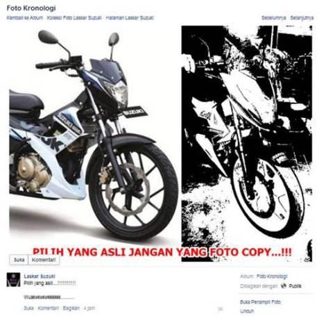 laskar Suzuki Pilih yang asli janan yang foto copy pertamax7.com
