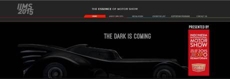 Mobil Batman Bakal Ramaikan Indonesia International Motor Show 2015