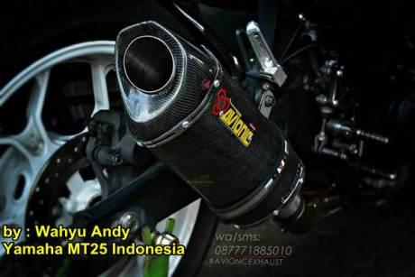 Modifikasi Yamaha MT-25 Hitam dengan HID Projector ini nampak Garang Habis Rp.13 juta 01 pertamax7.com