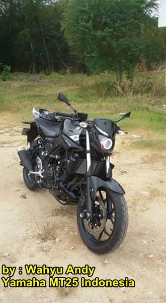 Modifikasi Yamaha MT-25 Hitam dengan HID Projector ini nampak Garang Habis Rp.13 juta 02 pertamax7.com