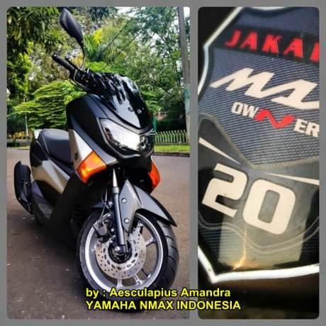 Modifikasi Yamaha NMAX hitam doff kekar menawan 02 pertamax7.com