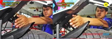 Pasang Lowering Kit Yamaha R15 bikin Nggak Jinjit dan tidak Begitu Nungging Lagi  pertamax7.com