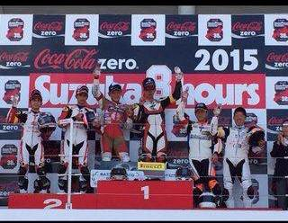 Pebalap Astra Honda Racing Team Juara 2  dalam ajang Suzuka 4 Hours