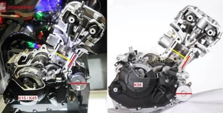 perbedaan mesin honda CB150R vs honda sonic 150R