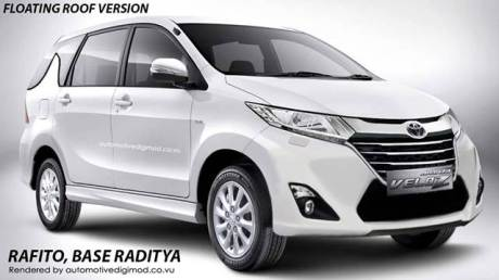 render New Toyota Avanza facelift 2015