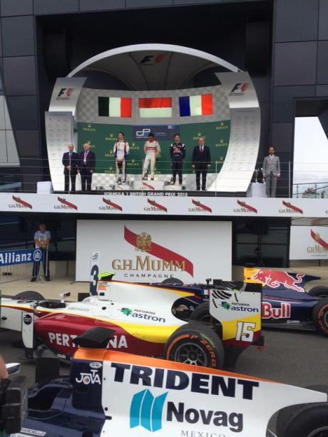 Rio Hari Kibarkan Merah Putih Juara 1 di GP2 Silverstone pertamax7.com