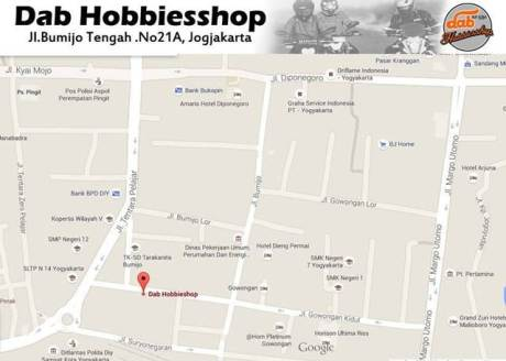 Sambt Ultah ke-4, Dab Hobbiesshop Jogja Gelar Diskon hingga 30 persen ... Sikat00 pertamax7.com