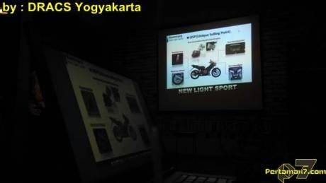 Suasana Soft Launching Honda Sonic 150R di Jogja diramaikan Komunitas Honda CS1 dan Sonic 125, Fitur sang Ayam Jago di Jereng !03 pertamax7.com