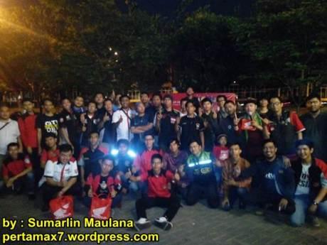 Suasana Soft Launching Honda Sonic 150R di Pulau Jakarta, Owner Honda CS1 Kompak nan antusias 01 pertamax7.com