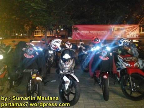 Suasana Soft Launching Honda Sonic 150R di Pulau Jakarta, Owner Honda CS1 Kompak nan antusias 03 pertamax7.com