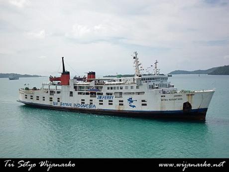 tarif kapal fery naik 100 % di musim mudik lebaran 2015