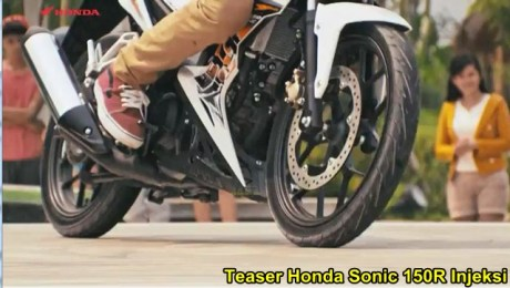 Teaser Honda Sonic 150R injeksi 01 pertamax7.com