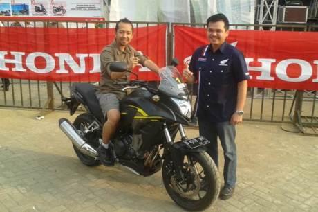 tedy suryadi markom respiro jadi pemilik mogeh honda pertama di Indonesia