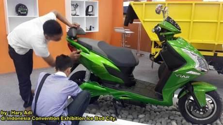 Wujud Motor Listrik buatan VIAR05 pertamax7.com