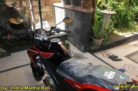Yamaha New Vixion Advance ditangan konsumen Bali 01 pertamax7.com