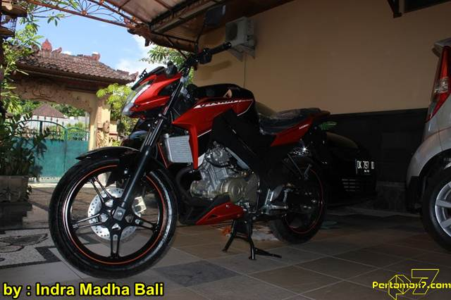 Yamaha New Vixion Advance ditangan konsumen Bali 02 pertamax7.com