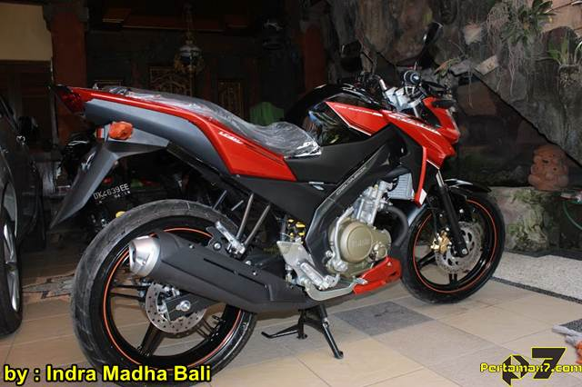 Yamaha New Vixion Advance ditangan konsumen Bali 05 pertamax7.com