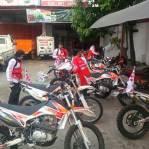 7 Explorer Gas Pol Viar Cross-X Series dari medang sampai Aceh 02 pertamax7.com