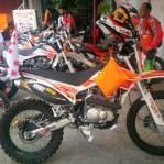 7 Explorer Gas Pol Viar Cross-X Series dari medang sampai Aceh 04 pertamax7.com