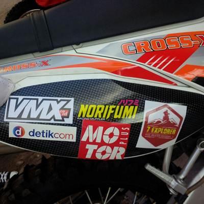 7 Explorer Gas Pol Viar Cross-X Series dari medang sampai Aceh 29 pertamax7.com