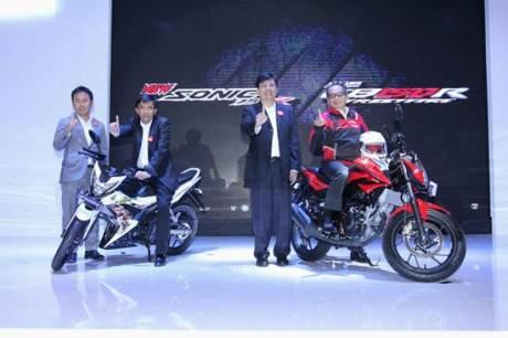 AHM Luncurkan 2 Model Baru All New Honda CB150R StreetFire dan New Honda Sonic 150R 01 pertamax7.com