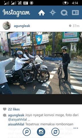 Aksi Pemberani Goweser hadang Mogeh di Jogja supaya tidak terobos lampu merah 00 pertamax7.com