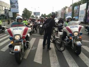 Aksi Pemberani Goweser hadang Mogeh di Jogja supaya tidak terobos lampu merah 02 pertamax7.com
